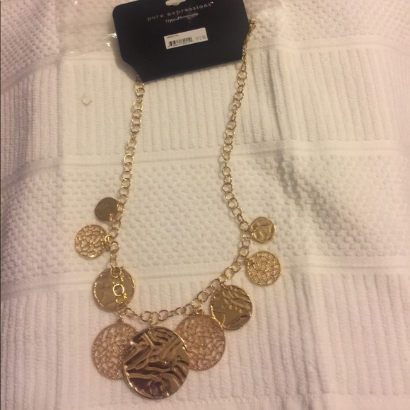 Pure Expressions Jewelry - NWT Pure Expression Hypo Allergenlc Necklace